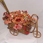 """Сувениры и подарки ручной работы. Ярмарка Мастеров - ручная работа Букет из конфет """"Золото"""". Handmade."""