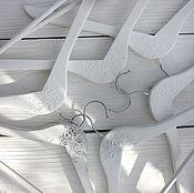 Для дома и интерьера handmade. Livemaster - original item Wooden hanger coat hanger