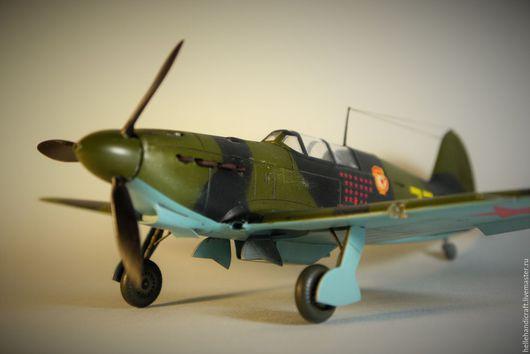 Подарки для мужчин, ручной работы. Ярмарка Мастеров - ручная работа. Купить Модель истребителя Як-7б (1/48). Handmade.