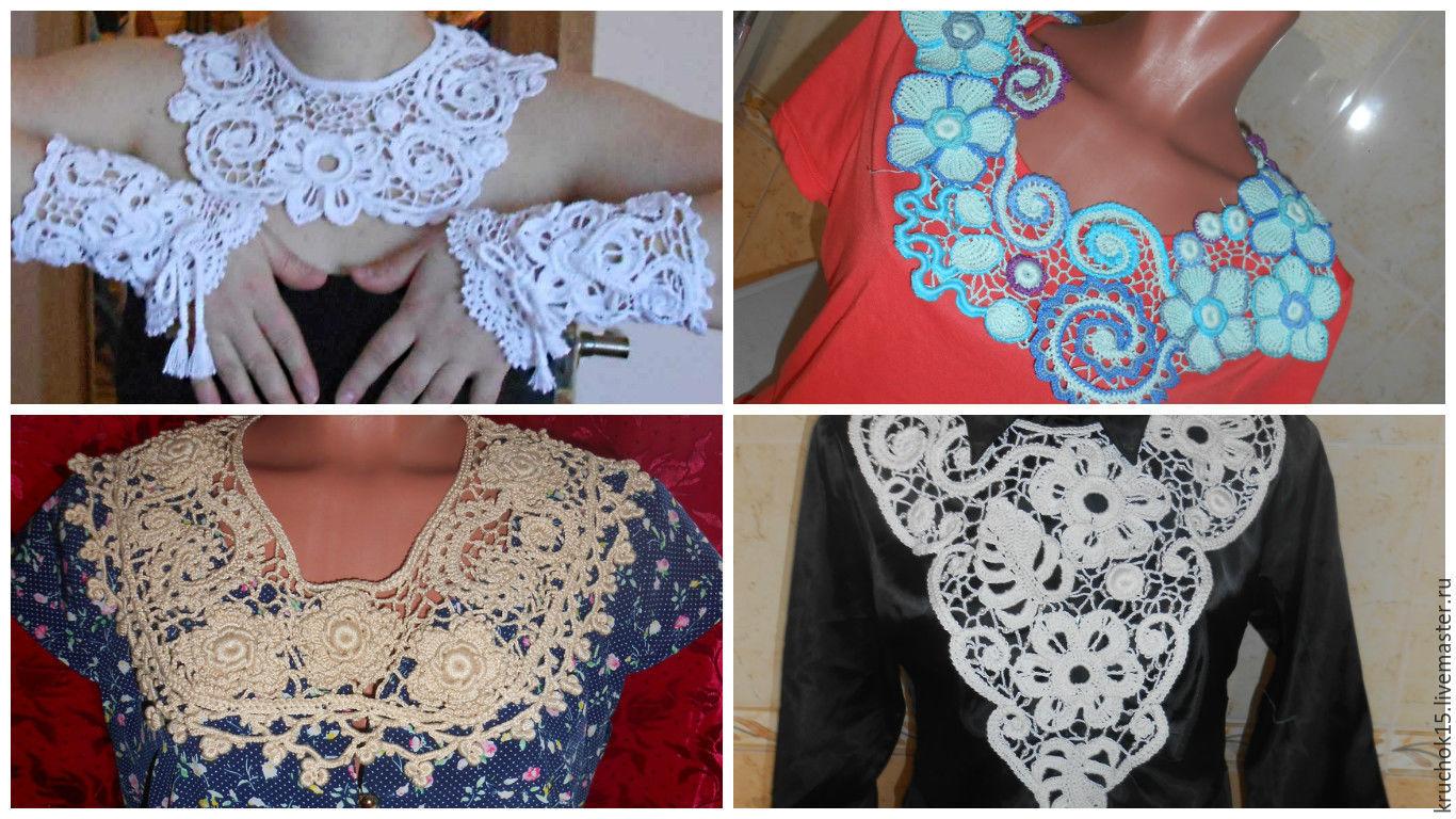 Collar Irish lace, Collars, Voronezh,  Фото №1