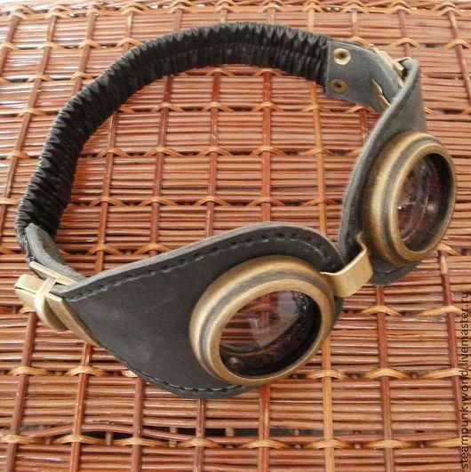 """Стимпанк ручной работы. Ярмарка Мастеров - ручная работа. Купить Гогглы """"Steam glasses"""". Стимпанк/steampunk. Handmade. Очки, steampunk"""