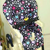 Чехол на стульчик ручной работы. Ярмарка Мастеров - ручная работа Чехол на стульчик для кормления Cam Campion. Handmade.