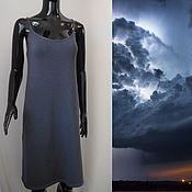 Одежда ручной работы. Ярмарка Мастеров - ручная работа Платье на тонких бретелях. Handmade.