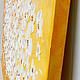 галерейная натяжка холста, боковые стороны окрашены