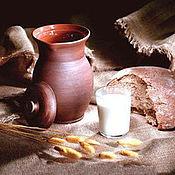 Для дома и интерьера ручной работы. Ярмарка Мастеров - ручная работа Крынка для молока. Handmade.