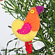 Броши ручной работы. Птички на любой вкус и цвет. Алёна Рябинина (WhiteLion). Интернет-магазин Ярмарка Мастеров. Птица, позитив