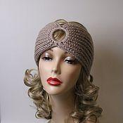Аксессуары handmade. Livemaster - original item Headband beige. Handmade.