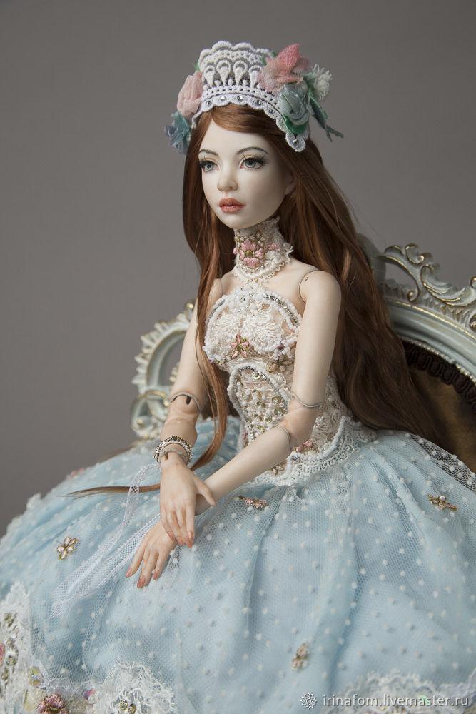 Куклы: Шарнирная кукла: Шарнирная кукла: фарфоровая Нина, Куклы и пупсы, Санкт-Петербург,  Фото №1