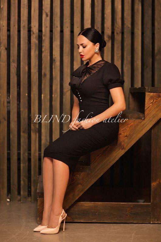 Платья ручной работы. Ярмарка Мастеров - ручная работа. Купить Платье 00263. Handmade. Черный, платье