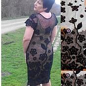 """Одежда ручной работы. Ярмарка Мастеров - ручная работа платье """"Чёрная магия"""". Handmade."""