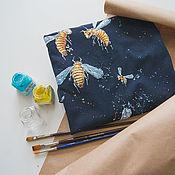 Одежда handmade. Livemaster - original item T-shirt a-line Bees. Handmade.
