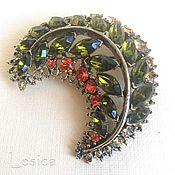 Винтаж handmade. Livemaster - original item Rhinestone brooch Branch vintage USA. Handmade.