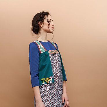 Clothing handmade. Livemaster - original item Vest with print. Handmade.
