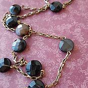 Украшения handmade. Livemaster - original item ELEGANCE with pendant and fabric brooch. Handmade.