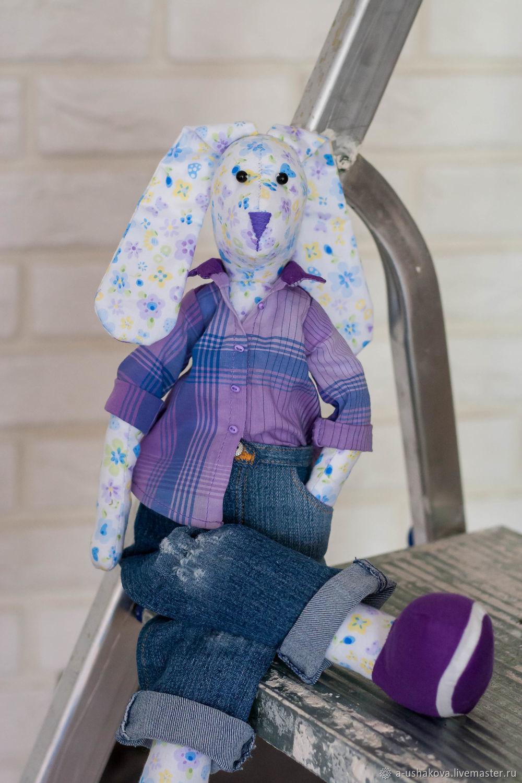 Заяц Крокс, беззаботный подросток, Мягкие игрушки, Домодедово,  Фото №1