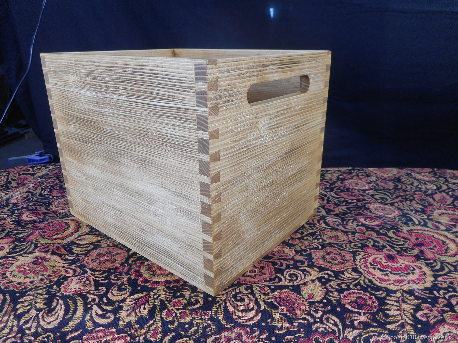 Storage box with slotted handle, Crates, Lyubertsy,  Фото №1