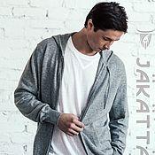 Одежда handmade. Livemaster - original item Cashmere suit grey
