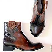 """Обувь ручной работы. Ярмарка Мастеров - ручная работа Ботинки """"Брутальные"""". Handmade."""