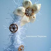 Подарки к праздникам ручной работы. Ярмарка Мастеров - ручная работа Новогодняя елка из ниток. Handmade.