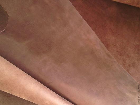 Шитье ручной работы. Ярмарка Мастеров - ручная работа. Купить Кожа.1.5мм.CrazyHorse (кофе). Handmade. Коричневый
