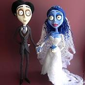 """Куклы и игрушки ручной работы. Ярмарка Мастеров - ручная работа Эмили и Виктор. По мотивам мультфильма """"Труп невесты"""". Handmade."""