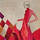 """Люди, ручной работы. Ярмарка Мастеров - ручная работа. Купить диптих """"Фламенко"""" правая. Handmade. Ярко-красный, картина фламенко"""