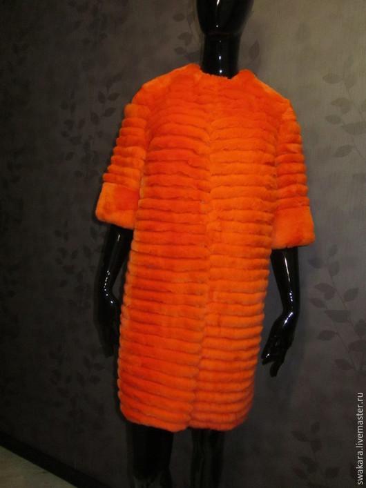 Верхняя одежда ручной работы. Ярмарка Мастеров - ручная работа. Купить Оранжевое солнце, оранжевое небо. Handmade. Оранжевый