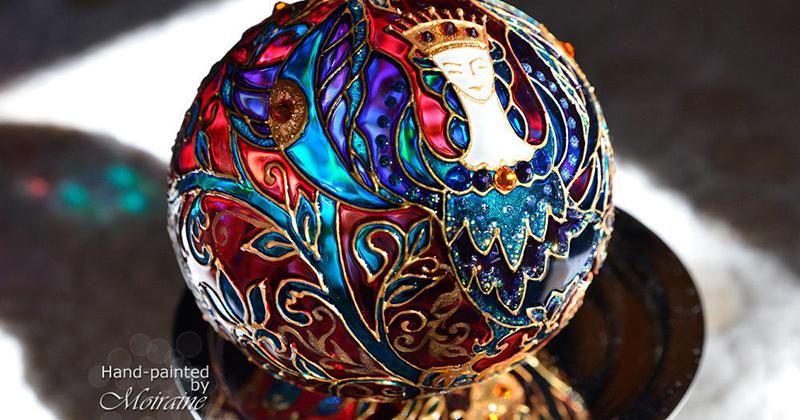 Новогодние шары под роспись