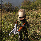 Куклы и игрушки ручной работы. Ярмарка Мастеров - ручная работа Охотник. Handmade.