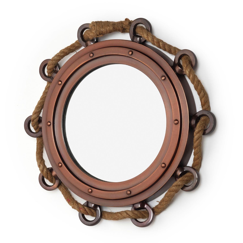 Зеркало в морском стиле из красного дерева, Зеркала, Москва,  Фото №1