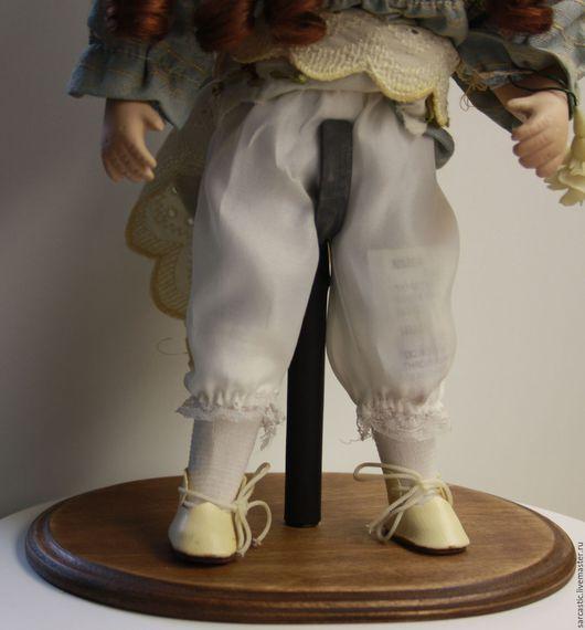 Коллекционные куклы ручной работы. Ярмарка Мастеров - ручная работа. Купить Стойка для куклы.. Handmade. Комбинированный, на заказ, фанера, воск