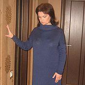"""Одежда ручной работы. Ярмарка Мастеров - ручная работа Платье """"Стильный синий"""". Handmade."""