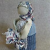 """Куклы и игрушки ручной работы. Ярмарка Мастеров - ручная работа Кукла Подорожница """"Синь"""". Handmade."""