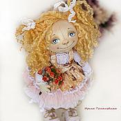 Куклы и игрушки ручной работы. Ярмарка Мастеров - ручная работа Маринка. Интерьерная текстильная коллекционная кукла.. Handmade.