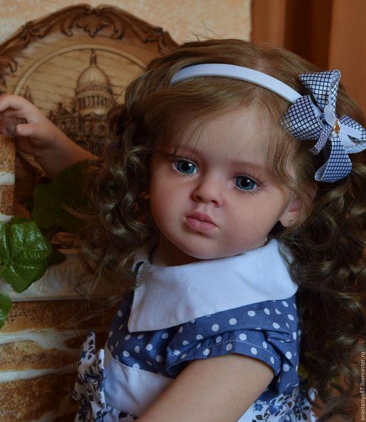 Куклы-младенцы и reborn ручной работы. Ярмарка Мастеров - ручная работа. Купить Молда Emiliа от Natali Blick.. Handmade. Бежевый