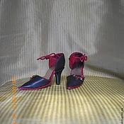 Куклы и игрушки ручной работы. Ярмарка Мастеров - ручная работа Кукольные туфельки ручной работы.. Handmade.