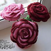 Цветы и флористика ручной работы. Ярмарка Мастеров - ручная работа Букет роз для интерьера. Handmade.