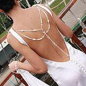 Одежда ручной работы. Ярмарка Мастеров - ручная работа Свадебное платье из шелка. Handmade.
