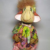 Куклы и игрушки ручной работы. Ярмарка Мастеров - ручная работа Обезьянка - текстильная игрушка, символ 2016 года.. Handmade.