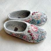 """Обувь ручной работы. Ярмарка Мастеров - ручная работа Тапочки """"Алевтина"""". Handmade."""