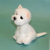 Куклы и игрушки handmade. Livemaster - original item puppy West highland white Terrier