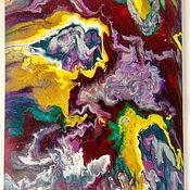 Картина - абстракция  (Fluid art) #1