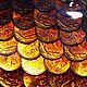 Животные ручной работы. Золотая рыбка (оберег на богатство). Юлия Ренессанс (Renaissance). Ярмарка Мастеров. Улов, рыбак, монеты, жене