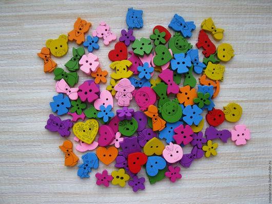 деревянные пуговицы,разноцветные деревянные пуговицы, деревянные пуговицы фигурки,детские деревянные пуговицы фигурки,разноцветные деревянные пуговицы фигурки, деревянная пуговица