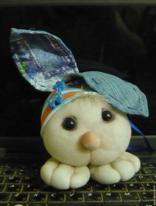 Игрушки животные, ручной работы. Ярмарка Мастеров - ручная работа. Купить Текстильная игрушка  ручной работы Зайка. Handmade. Разноцветный