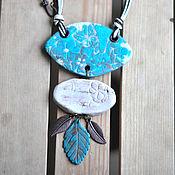 Украшения ручной работы. Ярмарка Мастеров - ручная работа Кулон с бабочками. Handmade.