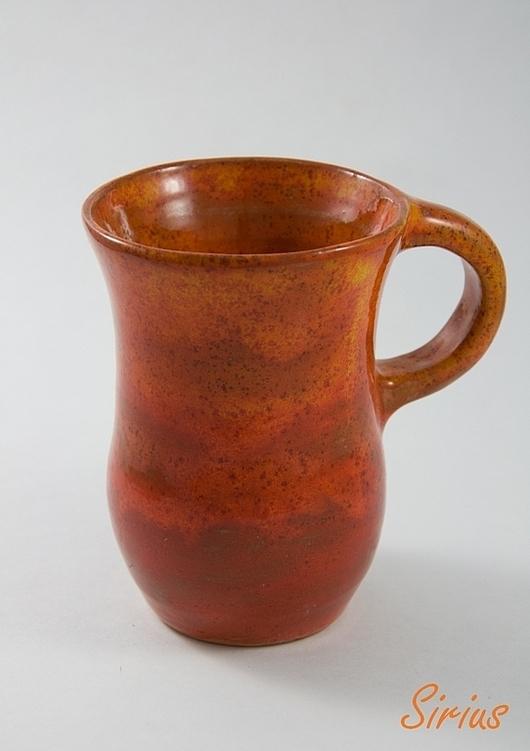 """Кружки и чашки ручной работы. Ярмарка Мастеров - ручная работа. Купить Кружка """"Африканский закат"""". Handmade. Кружка, чашка для чая"""