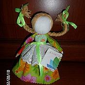 Куклы и игрушки ручной работы. Ярмарка Мастеров - ручная работа Кукла оберег Умничка. Handmade.