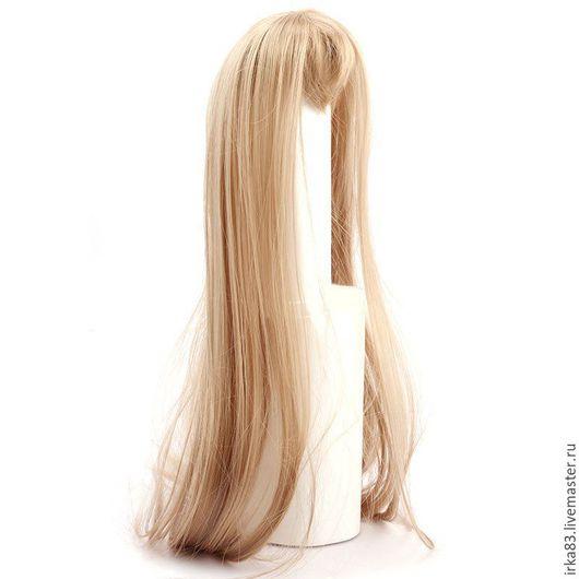 """Куклы и игрушки ручной работы. Ярмарка Мастеров - ручная работа. Купить Парик с челкой """"Элит"""". Handmade. Волосы, волосы для кукол"""