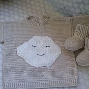Работы для детей, ручной работы. Ярмарка Мастеров - ручная работа вязанная кофта. Handmade.